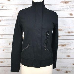 Banana Republic Black Zippered Jacket